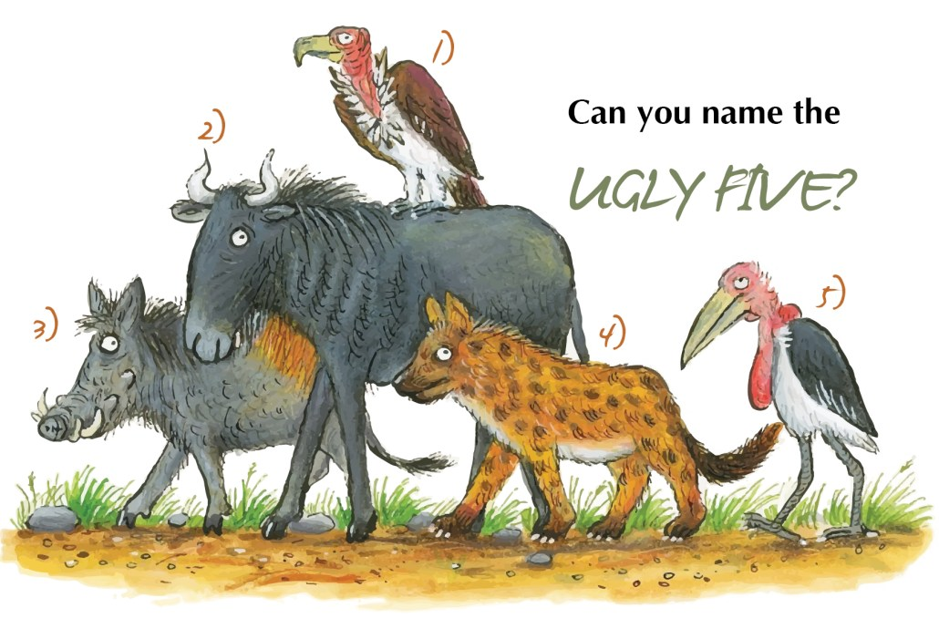 Can you name the ugly five