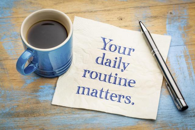 How I Turn New Year's Resolutions into manageable daily routines