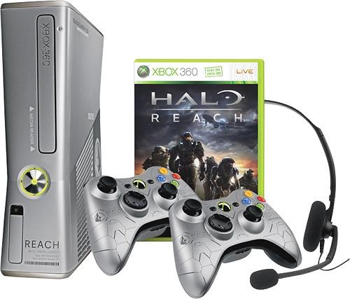 Microsoft Xbox 360 Limited Edition Halo Reach 250GB Console Game