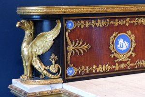 aigle meuble Empire-Louvre-ecoutelebois