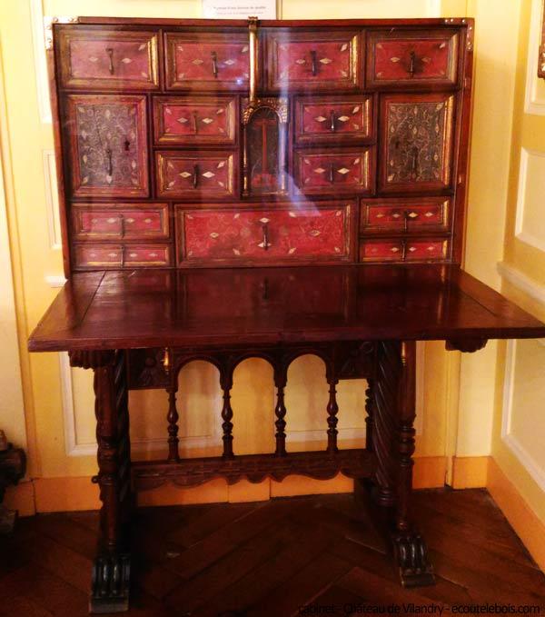 cabinet Chateau Villandry ecoutelebois