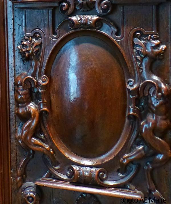 cartouche et metamorphoses buffet renaissance 16e