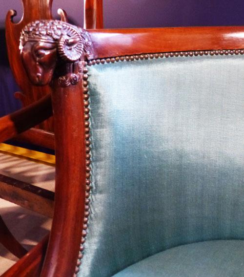 chaise en acajou -1810 -ecoutelebois