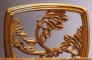 chaise art nouveau emile galle ecoutelebois