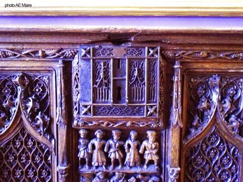 coffre gothique XVe petit-palais