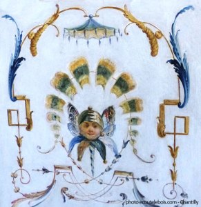 décor-de-grotesques-chantilly-ch-huet-18e ecoutelebois