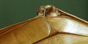 détail sculpté guimard ecoutelebois