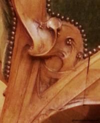 gallé détail sculpture chaise ecoutelebois