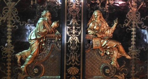 marqueterie Boulle armoire Louvre