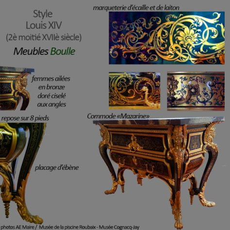mobilier Louis 14 Boulle