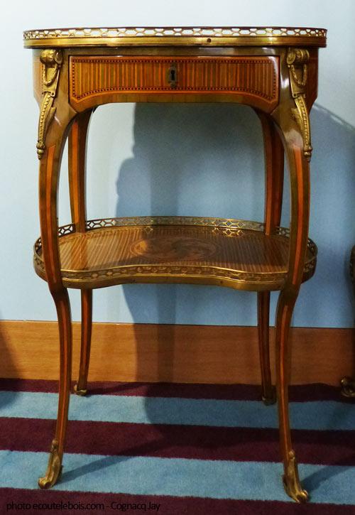 table à ouvrage Louis XV 18e