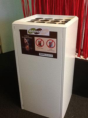 Ecovalim Recyclage Gobelets Plastique De Distributeurs