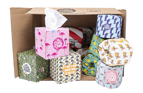 The Good Roll   2-in-1 Combi Deal   Tissues & Rollen