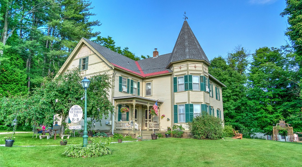 bed and breakfast house