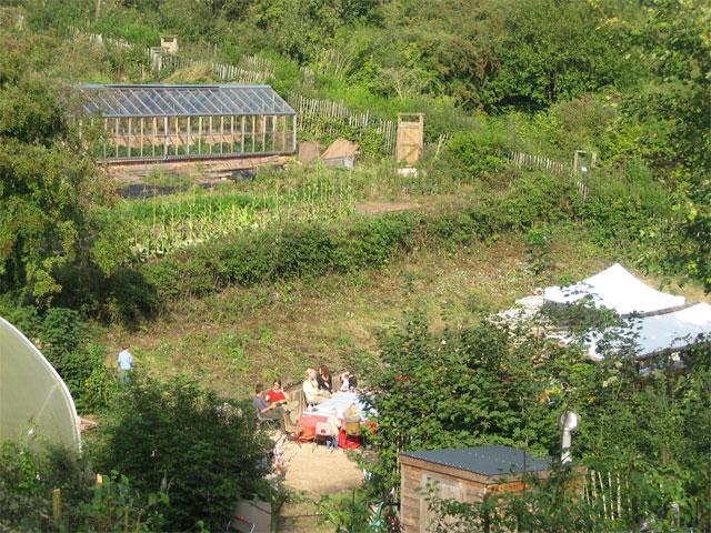View of FRESH Gardens