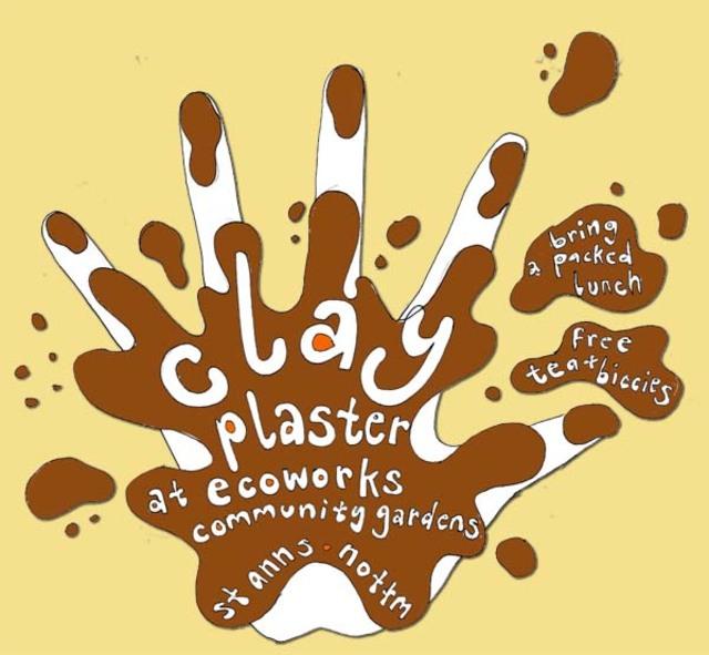 straw bale plastering poster