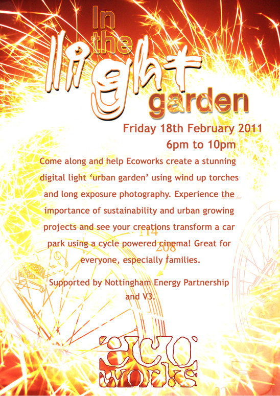 Ecoworks will be at the galleries of justice from 6pm on the 18th February