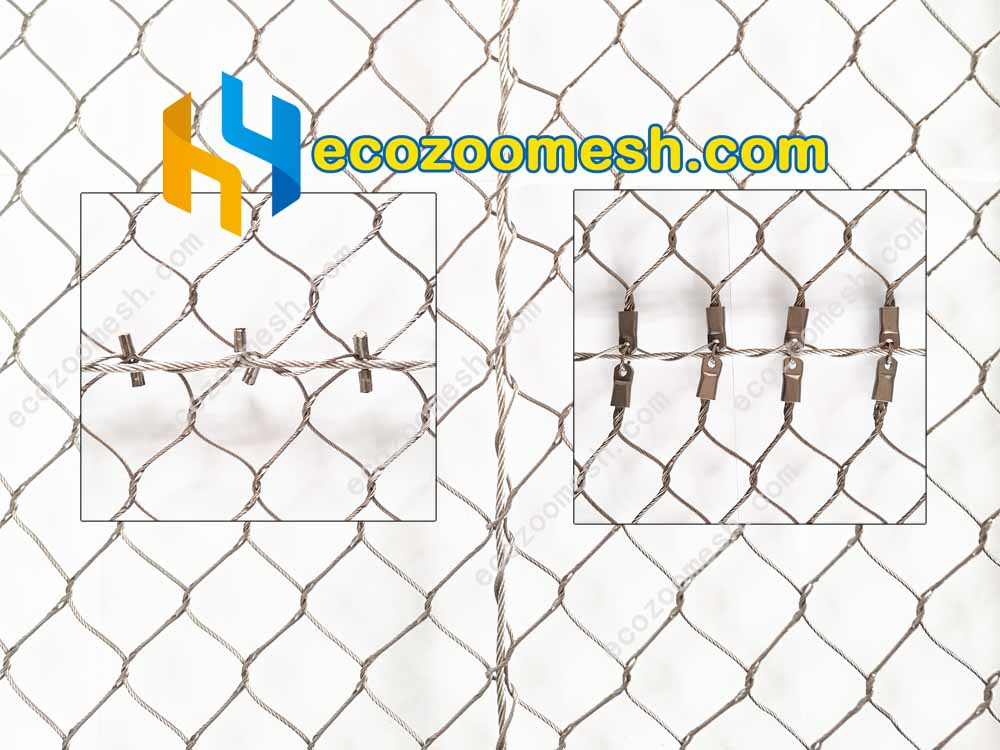 Stainless Steel Wire Cable Mesh Connecting