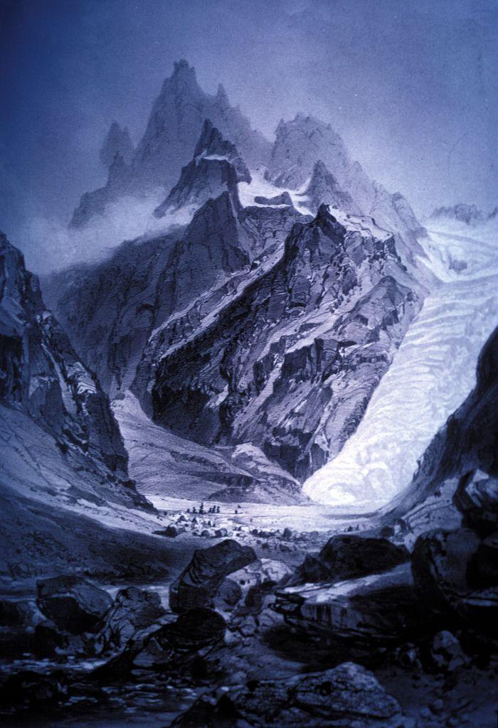 Le Glacier Noir Parc National Des Ecrins