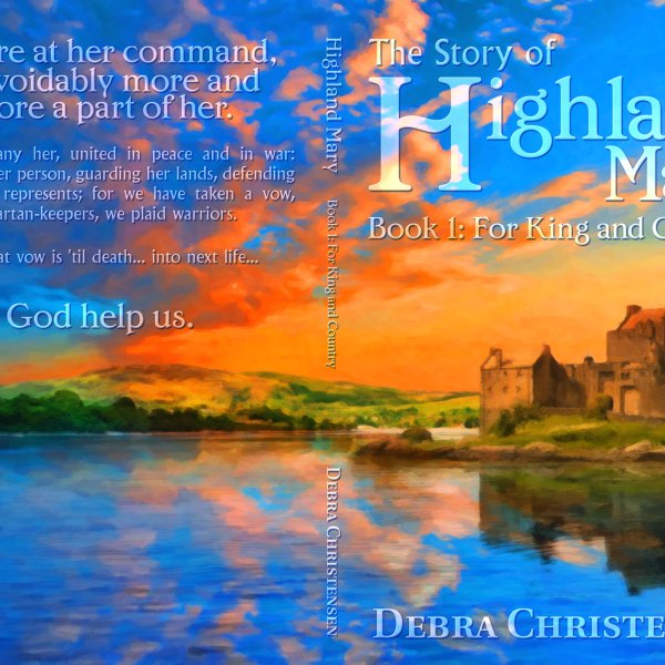 The Tale of Highland Mary Trilogy, Cover Design by Elizabeth C. Spillman