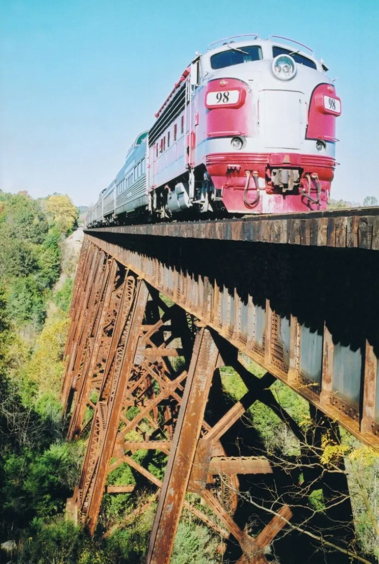 Branson Scenic Railway, Branson, Missouri