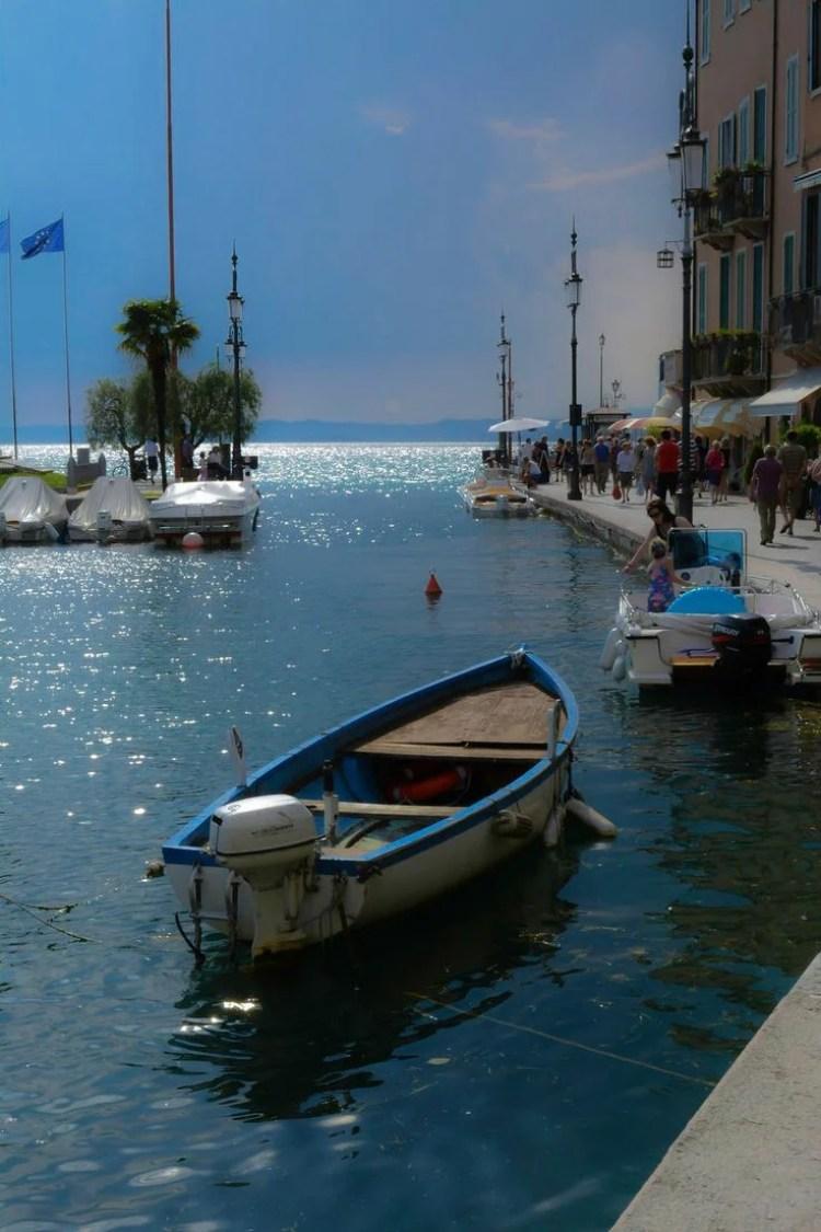 Night in Lazise, Lake Garda, Italy