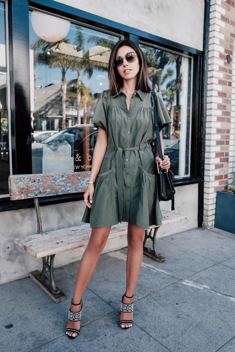 13 Gorgeous Shirt Dress Outfit Ideas For Springsummer