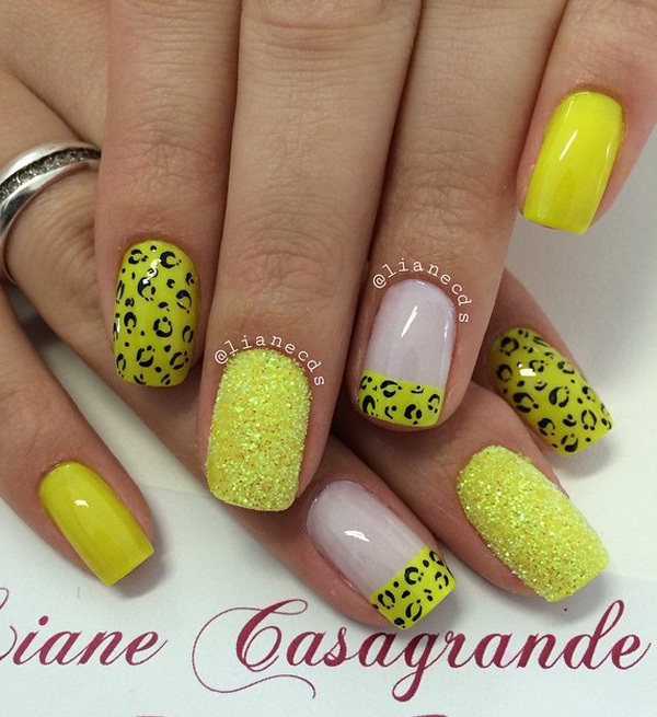 60 Stylish Leopard and Cheetah Nail Designs That You Will Love ...