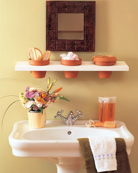 Practical Bathroom Storage Ideas @EcstasyCoffee - 28