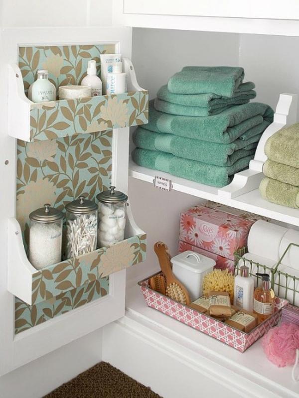 Practical Bathroom Storage Ideas @EcstasyCoffee - 32
