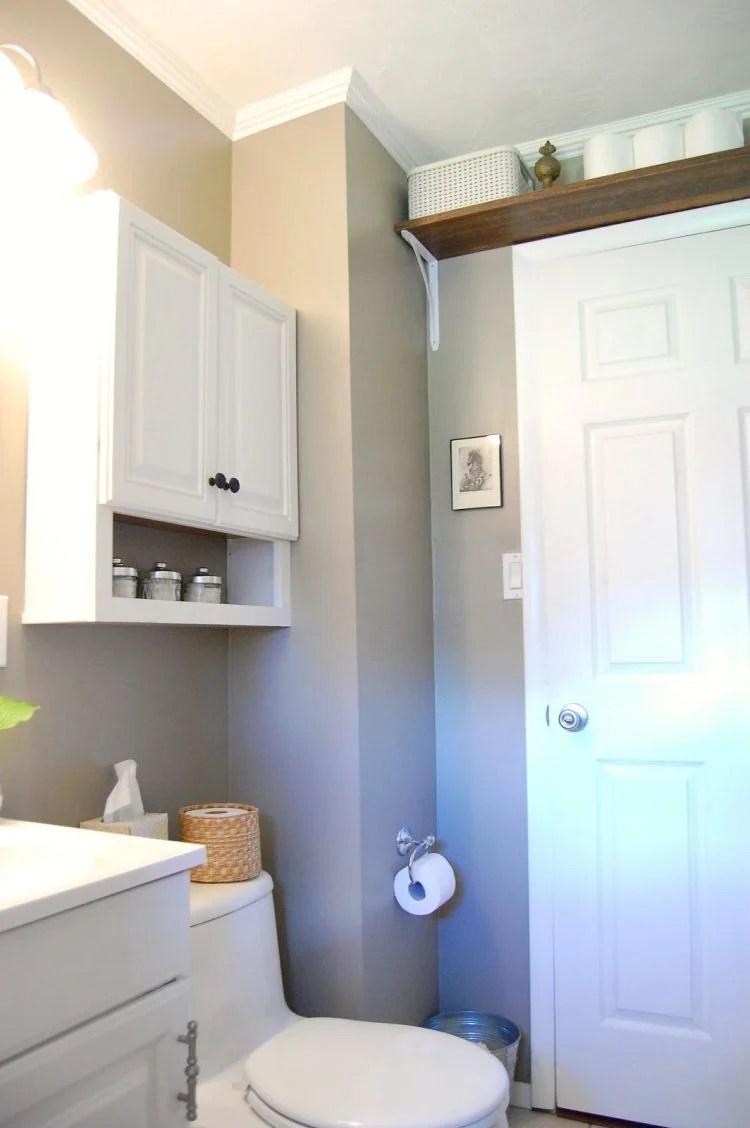 Practical Bathroom Storage Ideas @EcstasyCoffee - 42