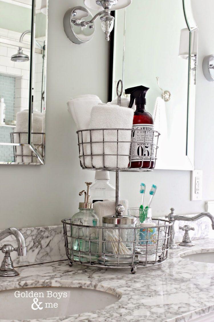 Practical Bathroom Storage Ideas @EcstasyCoffee - 43