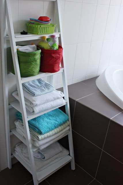 Practical Bathroom Storage Ideas @EcstasyCoffee - 7