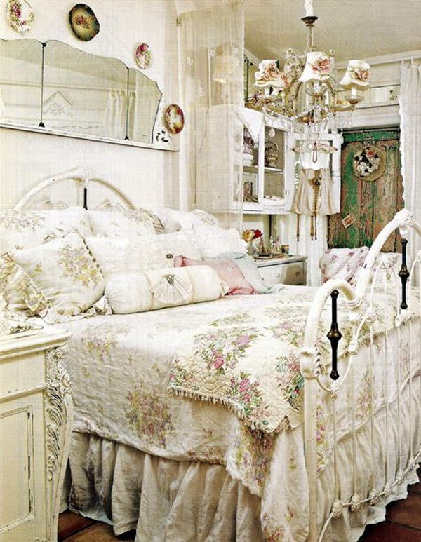33 cute and simple shabby chic bedroom decorating ideas 17040 | vintage shabby chic bedroom decor