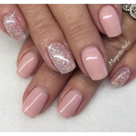50 stunning manicure ideas for short nails with gel polish
