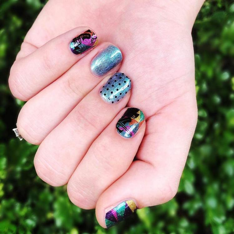 50+ Cool Colorful Rainbow Nail Designs You Won\'t Miss