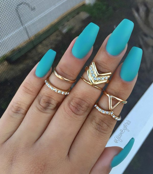 33 Cartoon Nail Art Designs Ideas: 40 Cool Matte Nail Art Designs You Need To Try Right Now