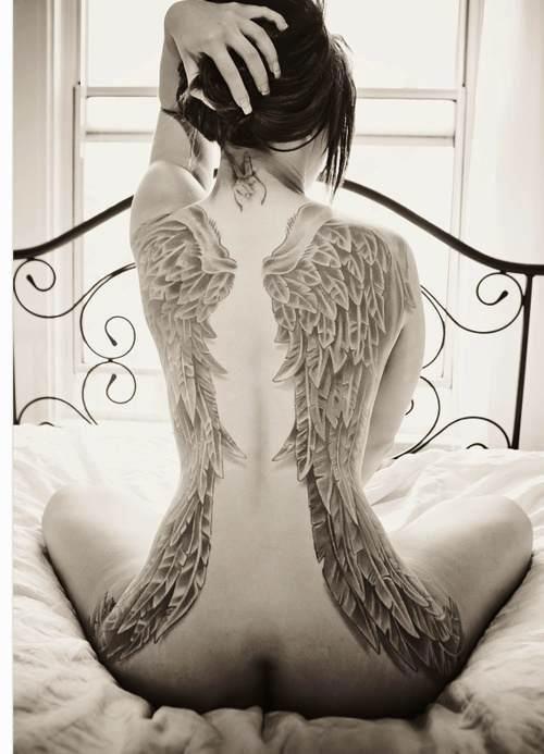 40 Amazing Female Tattoos On Back That You Wish You Had Ecstasycoffee