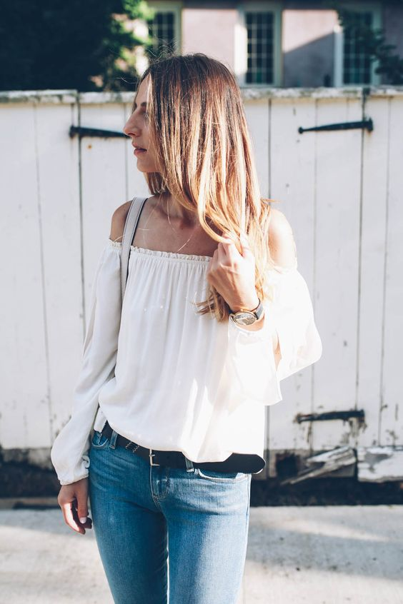 50 Trending And Stunning Off The Shoulder Tops And Dresses