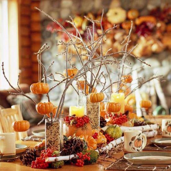 Stunning Thanksgiving Table Decor Ideas Ecstasycoffee