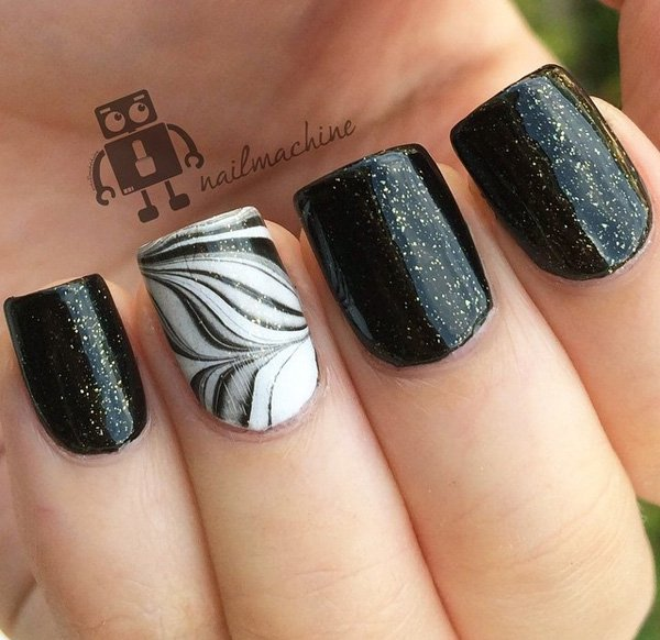 You can follow us at Twitter. For more update about fashion trends follow  us at Pinterest. - 60 Beautiful Dark Nail Designs And Ideas To Make Others Envious