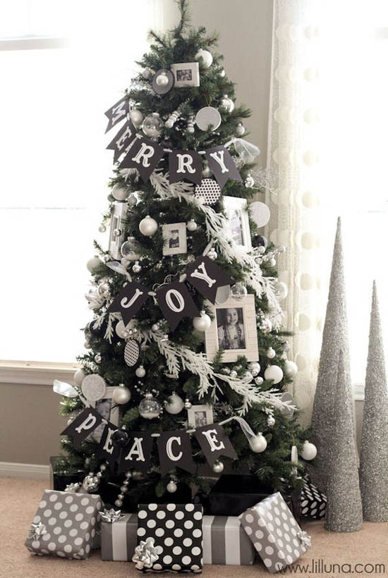 black-white-and-silver-christmas-tree