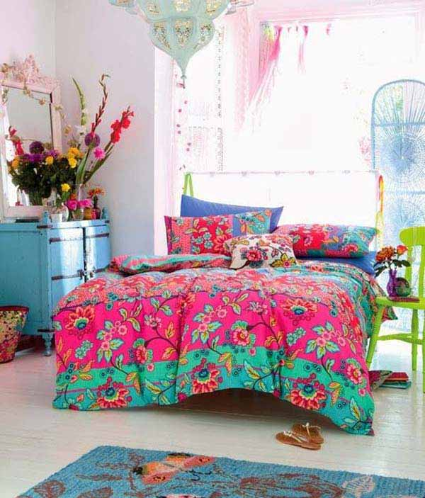 40 Beautiful Pictures Of Bohemian Style To Decorate Your Room ...