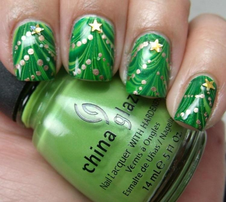 christmas-tree-water-marble
