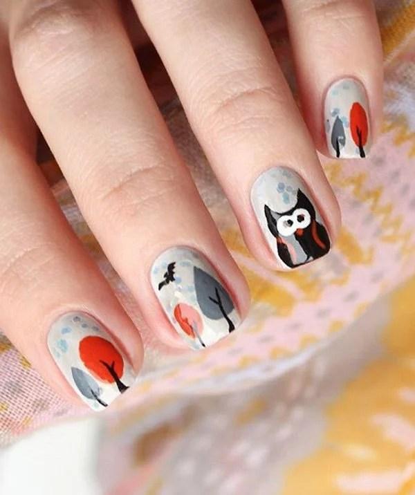 amazing classic nail art design