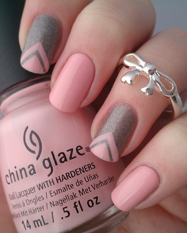 ... classic-nail-art-designs-4 ... - 40 Amazing Classic Nail Art Designs - EcstasyCoffee
