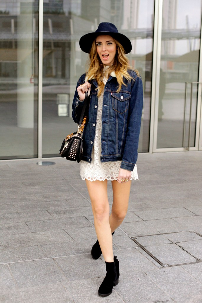 55 Fashionable Outfit Ideas How To Wear Denim Jacket