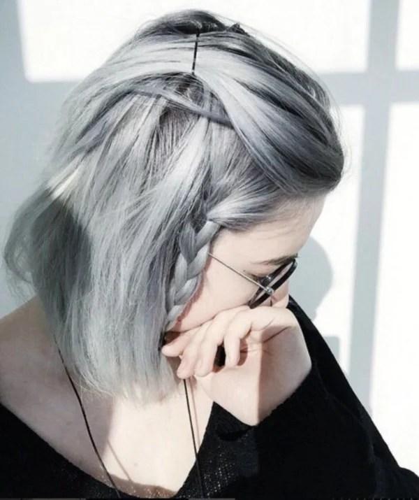 40 cool grey hairstyles ideas » ecstasycoffee