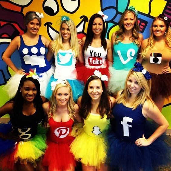 Halloween Group Costumes.50 Bold And Cute Group Halloween Costumes For Cheerful Girls