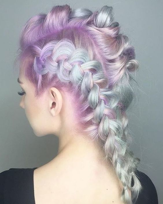 Light Pink Hair Pastel Blonde And